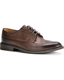 Frye Men's James Wingtip Oxford Shoes - Round Toe