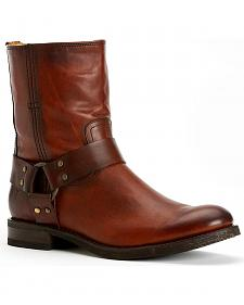 Frye Men's Jonathan Harness Boots - Round Toe