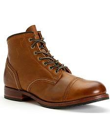 Frye Men's Logan Cap Toe Boots