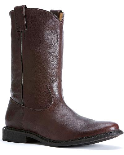 Frye Mens Marco Roper Boots Round Toe Western & Country 87982-DBN