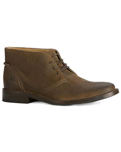 Frye Mens Oliver Chukka Shoes Western & Country 87821-FTG