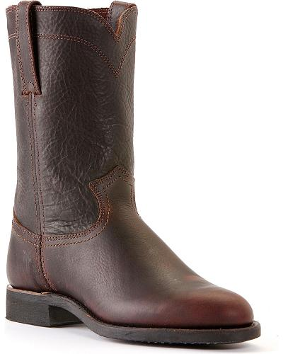 Frye Mens Roper 10R Boots Round Toe Western & Country 87385-EAR