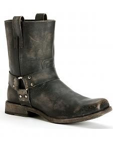 Frye Men's Smith Harness Boots - Square Toe
