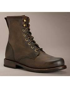 Frye Men's Wayde Combat Boots - Round Toe