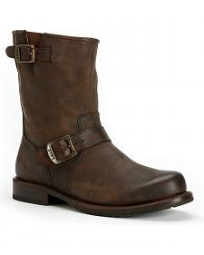 Frye Men's Wayde Engineer Pull-on Boots - Round Toe