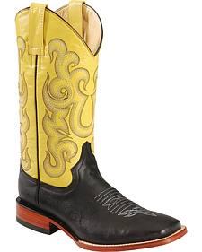 Ferrini Primo Cowboy Boots - Wide Square Toe