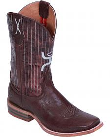 Hooey by Twisted X Pinstripe Cowboy Boots - Square Toe