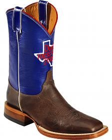 Justin Men's Don't Mess With Texas Cowboy Boots - Square Toe