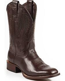 Stetson Flynt Buffalo Calf Boots - Square Toe