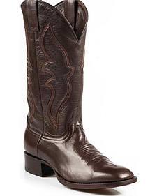 Stetson Boone Calf Skin Boots - Square Toe