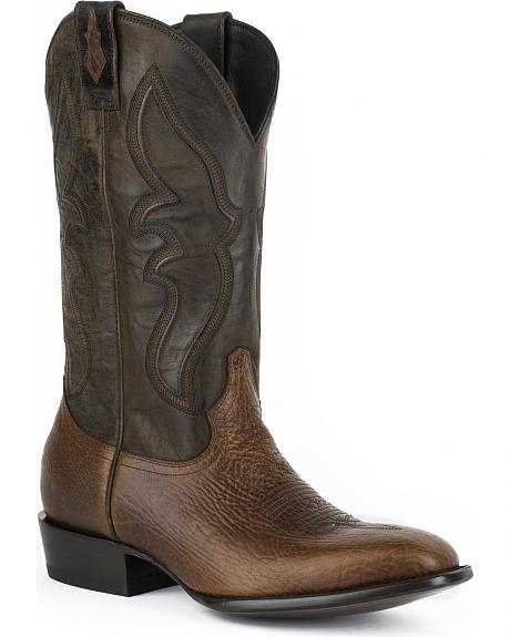 Stetson Mad Dog Cowboy Boots  - Square Toe