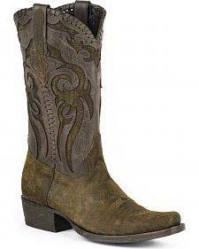 Stetson Outlaw Buck Cowboy Boots