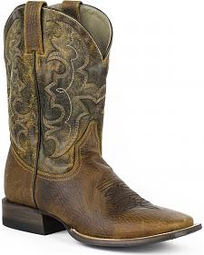Stetson Bart Cowboy Boots - Square Toe