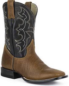 Stetson Ben Cowboy Boots - Square Toe