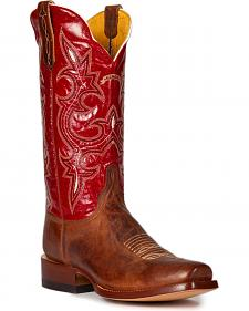 Cinch Men's Galaxias Gold Goat Western Boots - Square Toe