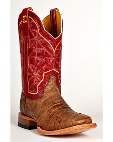 Cinch Edge Men's CEM Leather Western Boots - Square Toe