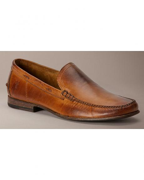 Frye Lewis Leather Venetian Loafers