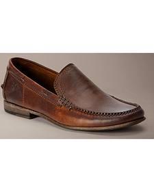 Frye Lewis Leather Venetian Loafers