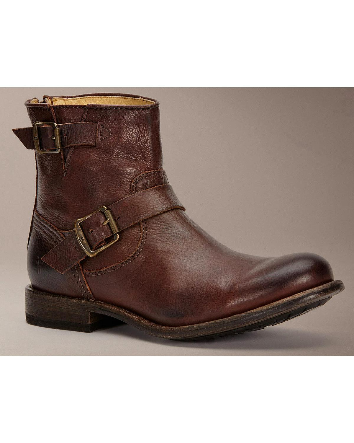 frye s engineer boot 86073 dbn ebay
