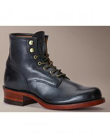 Frye Engineer Artisanal Lace-Up Boots