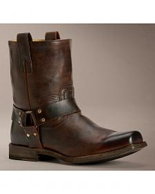 Frye Smith Harness Antique Boots