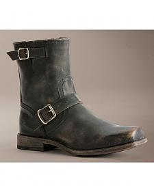 Frye Smith Engineer Stonewashed Boots