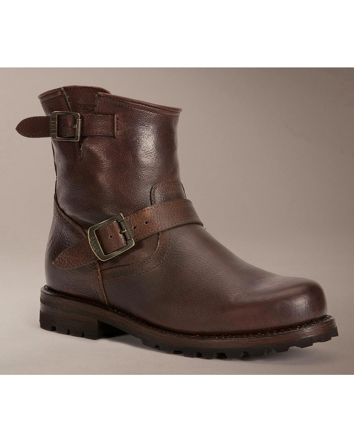 frye s warren engineer boot 87122 whs ebay