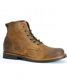 Frye Roland Lace-Up Suede Boots