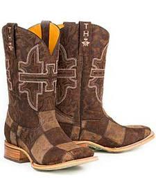 Tin Haul Million Dollar Mullet Cowboy Boots - Square Toe