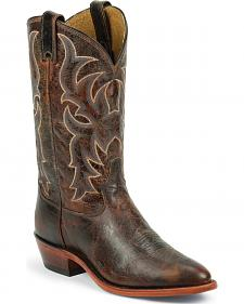 Tony Lama Men's Americana Leather Western Boots - Round Toe