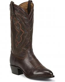 Tony Lama Men's Ranch Jersey El Paso Cowboy Boots - Medium Toe
