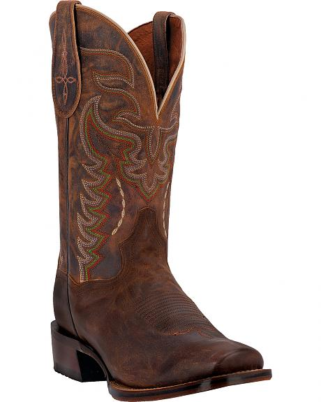 Dan Post Men's Duncan Sanded Western Boots - Square Toe