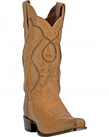 Dan Post Albany Laced Cowboy Boots - Medium Toe