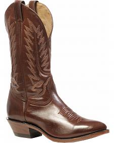 Boulet Ranch Hand Tan Boots - Medium Toe