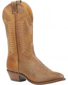Boulet Hillbilly Golden Rider Sole Boots - Medium Toe