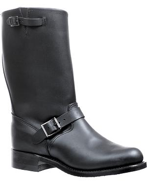 Boulet Oil-Resistant Buckle Boots - Round Toe