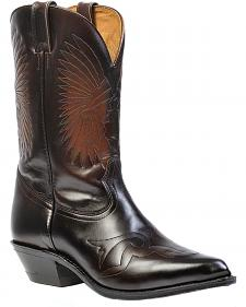 Boulet Hand-Washed Cowhide Challenger Cowboy Boots - Pointed Toe
