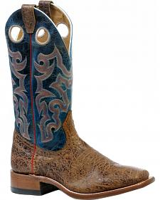 Boulet Everest Atwood Puma Turqueza Cowboy Boots - Square Toe