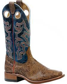 Boulet Everest Atwood Puma Turqueza Cowboy Boots - Square Toe