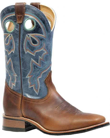 Boulet Grizzly Sand Rider Sole Boots - Square Toe