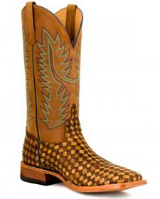 Anderson Bean Boots Horse Power Men's Unbeweavable Western Boots - Square Toe