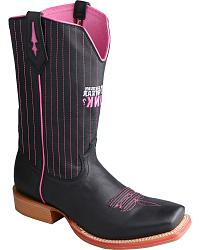 Twisted X Men's Tough Enough to Wear Pink Red River Boots - Square Toe at Sheplers