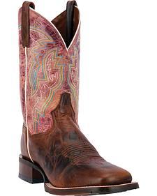 Dan Post Cowboy Certified Teton Cowboy Boots - Square Toe