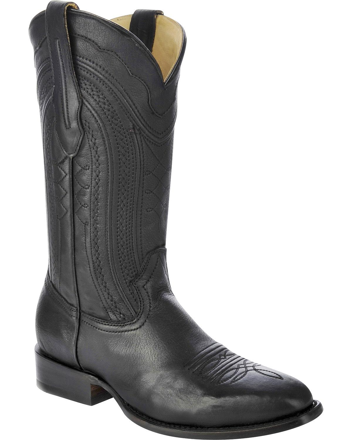 corral s burnished leather cowboy boot square toe