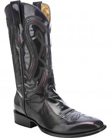 Corral Shiny Cowboy Boots - Square Toe