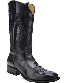Corral Shiny Cowboy Boots - Square Toe