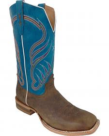 Twisted X Crazyhorse Rancher Cowboy Boots - Square Toe