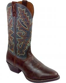 Twisted X Chocolate Brown Western Cowboy Boots - Medium Toe