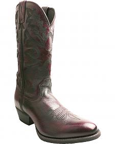 Twisted X Men's Burgundy Western Cowboy Boots - Round Toe
