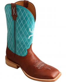 Twisted X Men's Hooey Cowboy Boots - Square Toe